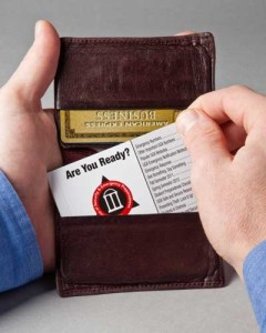 Student Safety Wallet Book