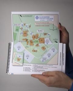 Foldout map