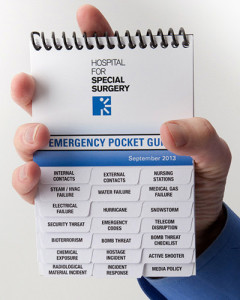 Emergency Response Guidebook with multiple, easy to read tabs that fits in the palm of your hand.